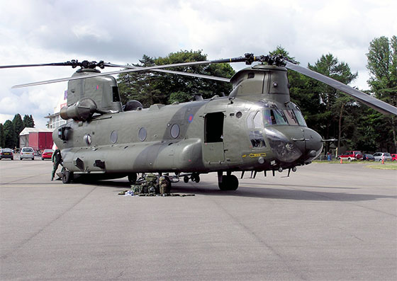 chinook hc2 raf helicopter