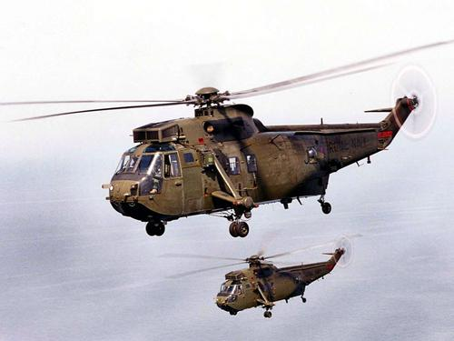 845 nas sea king helicopters