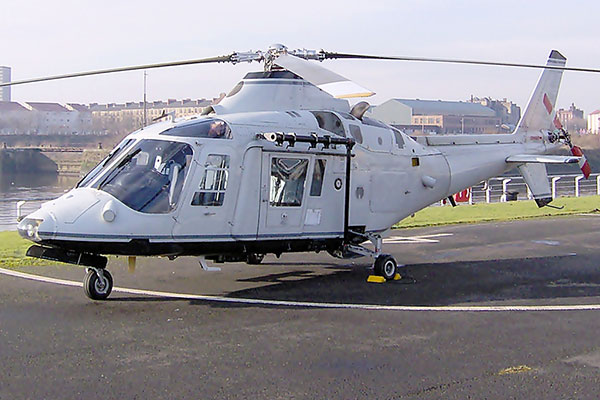 A109 helicopter
