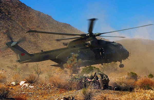 Merlin Helicopter | 42 Commando Royal Marines