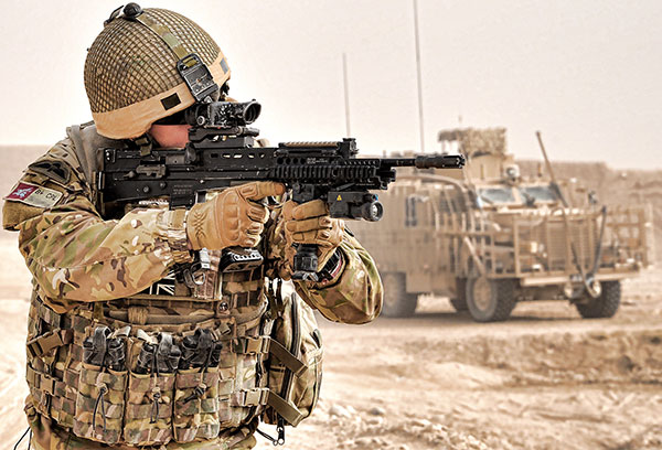 9 para squadron 23 Engineer Regiment