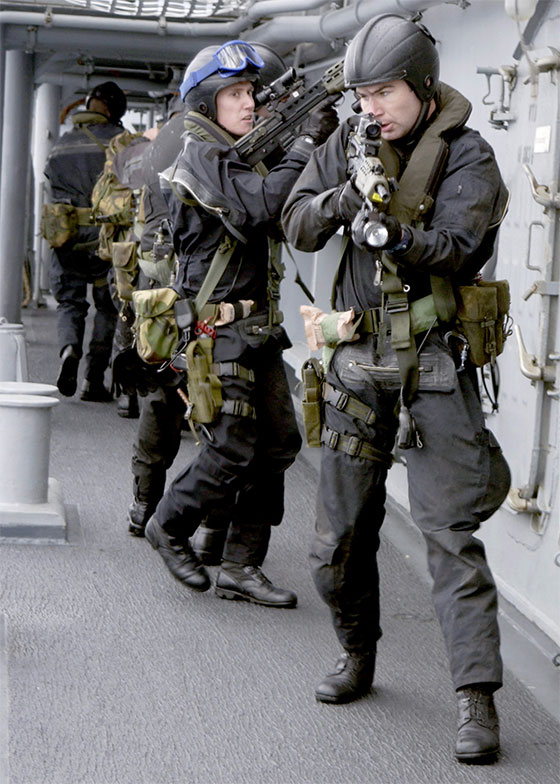 fleet protection group - Royal Marines