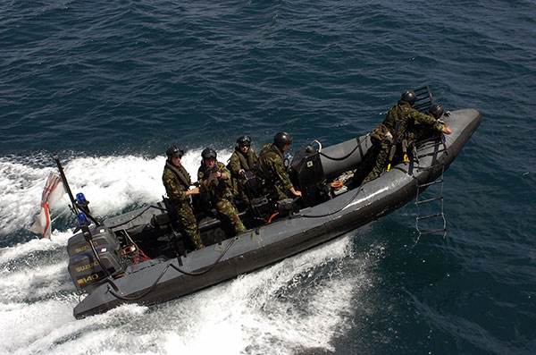 Fleet Protection Group Royal Marines Fpgrm Photo Rib