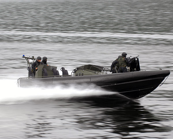 Royal Marines - Offshore Raiding Craft