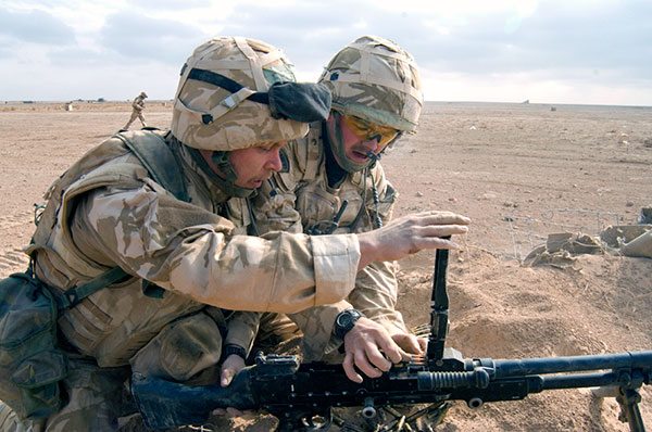 Royal Marines - GPMG