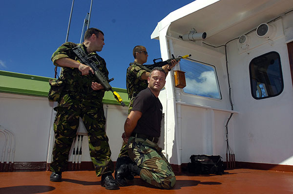 Royal Marines - Fleet Protection Group