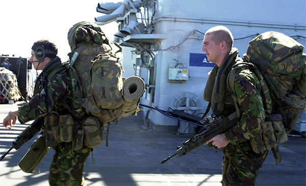 Royal Marines - 40 Commando
