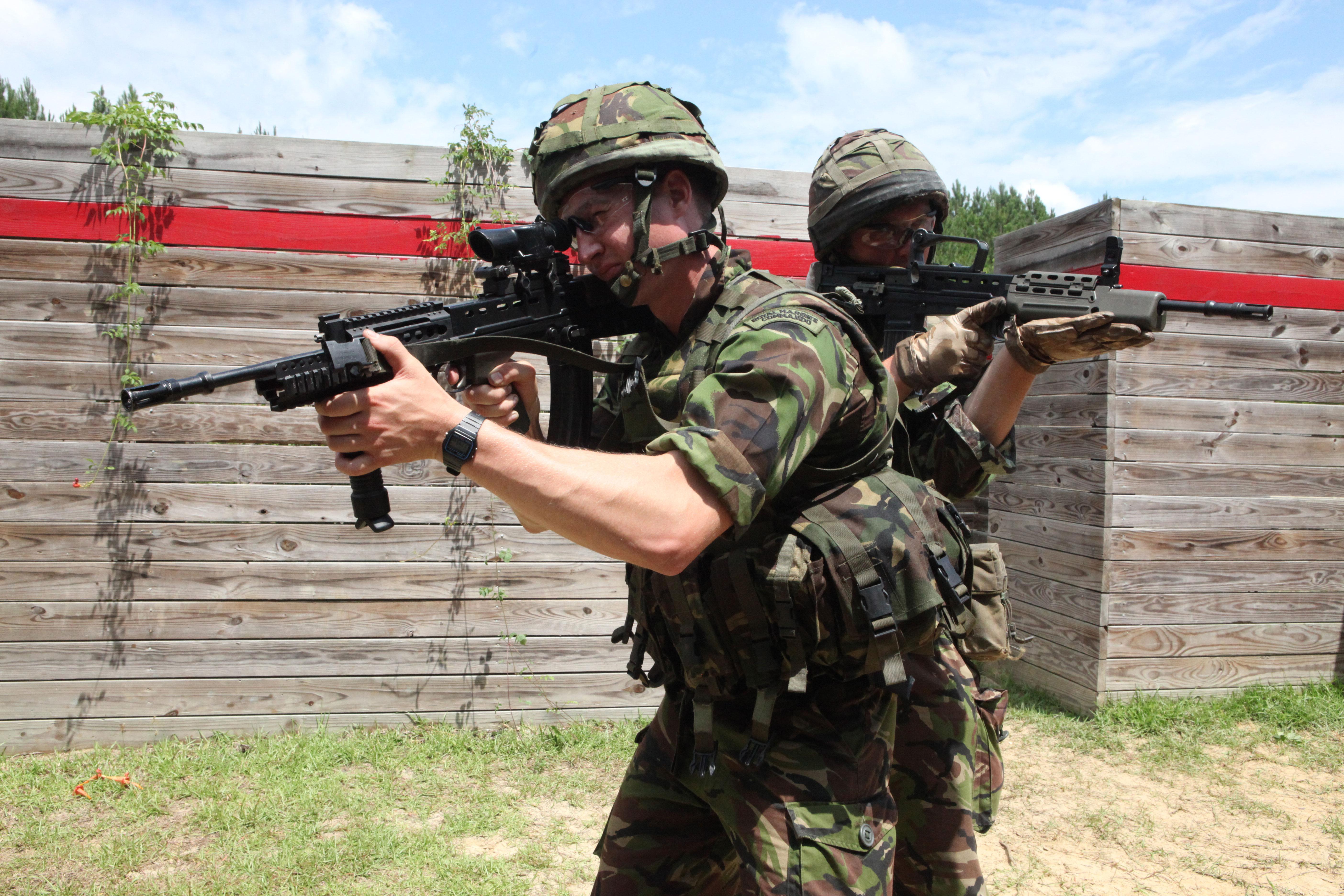Brigade Patrol Troop Royal Marines