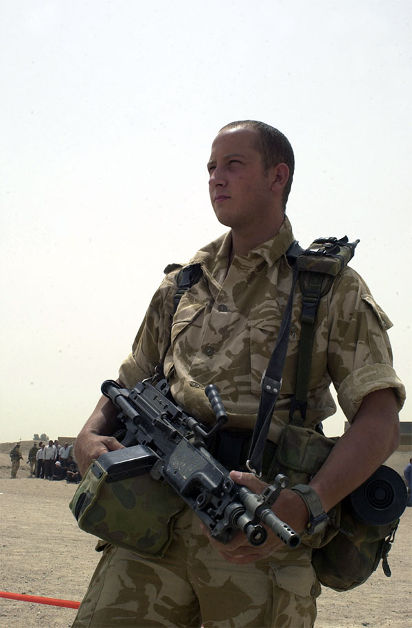 Royal Marine - 42 Commando - Iraq