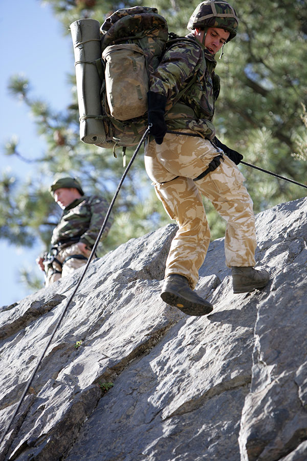 Royal Marines - Mountain Training