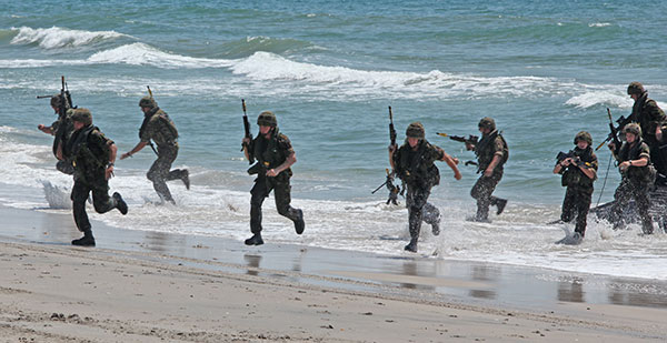 Royal Marines - Beach