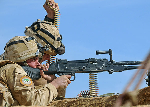 Royal Marines -  Fire Support Group GPMG