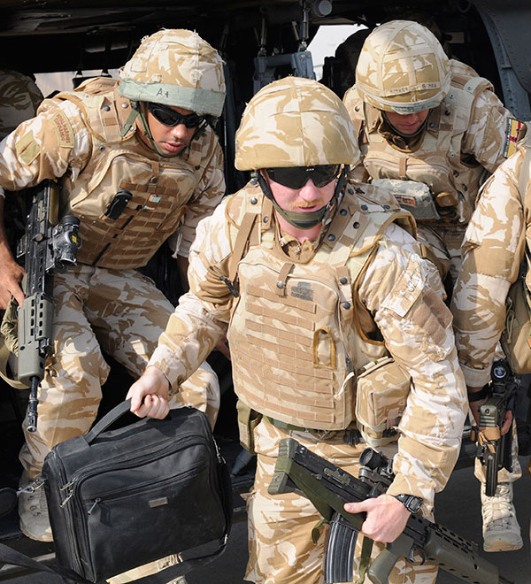 Royal Marines - Iraq