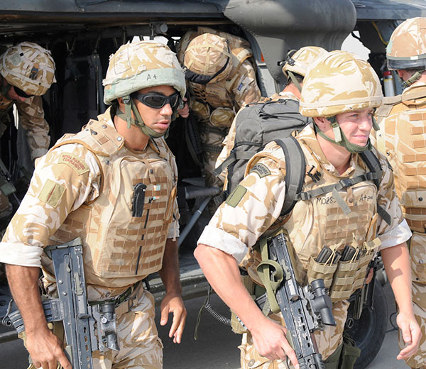 Royal Marines Iraq