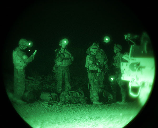 Royal Marines - night ops