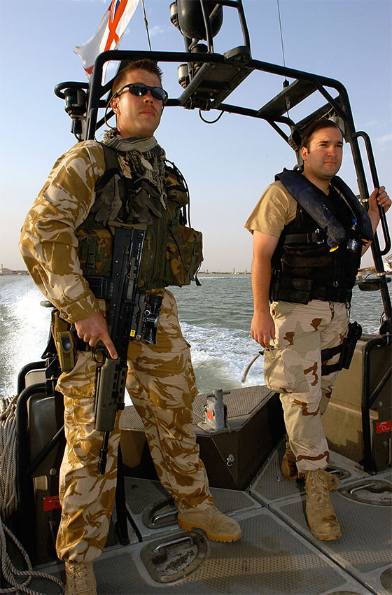 fleet protection group - Royal Marines - umm qasr patrol