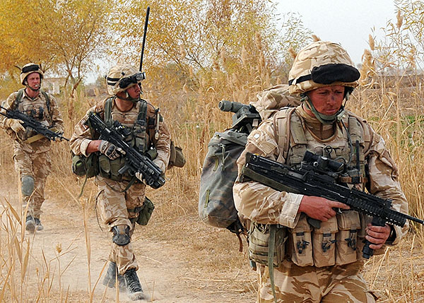 Trio of Royal Marines -  42 Commando