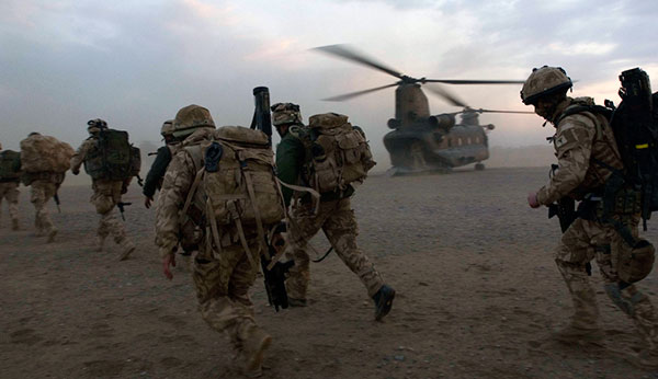 Royal Marines - Chinook