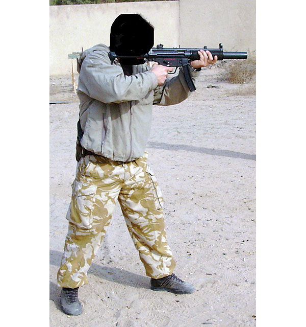 sas with mp5sd