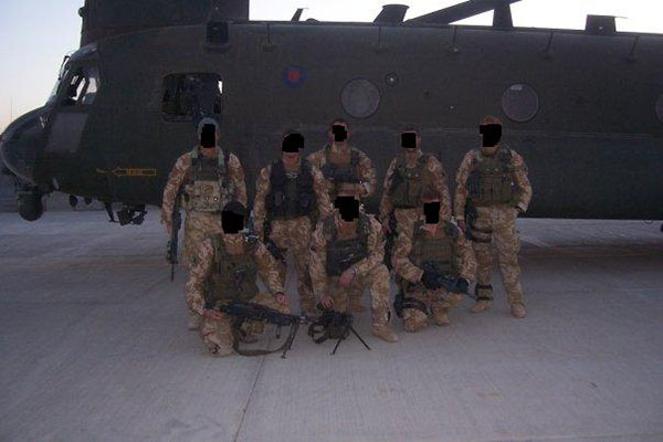 special forces support group - chinook