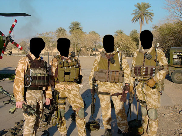 special air service - iraq