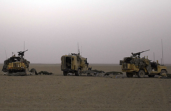raf regiment vehicles