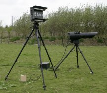 blighter ground radar on tripod
