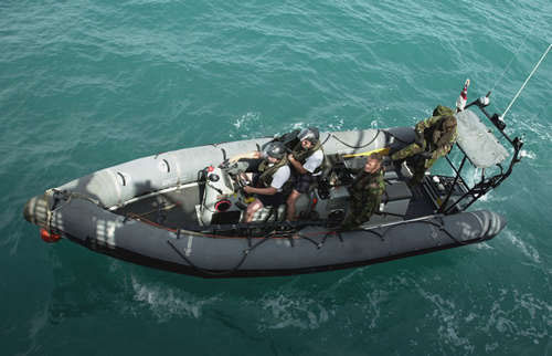 rigid hull inflatable boat (RIB)