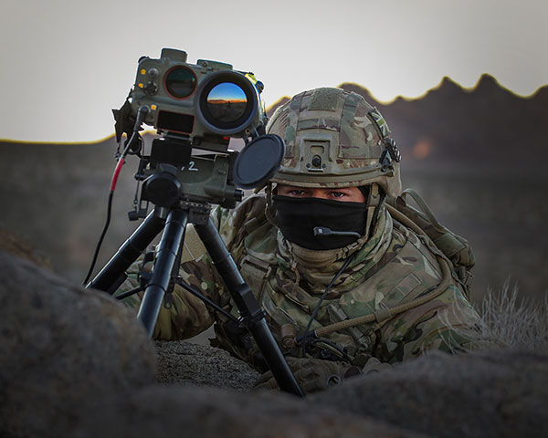 Surveillance System and Range Finder (SSARF)