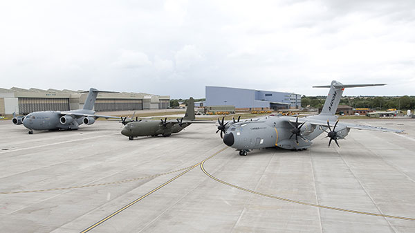 C17, C-130J and A400M