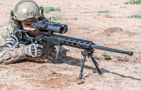 DAn 338 sniper rifle