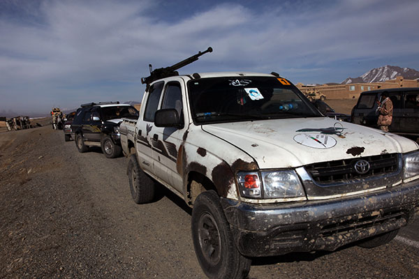 Hilux armed