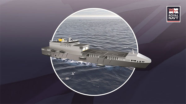 rendering of Future Littoral Strike Ship
