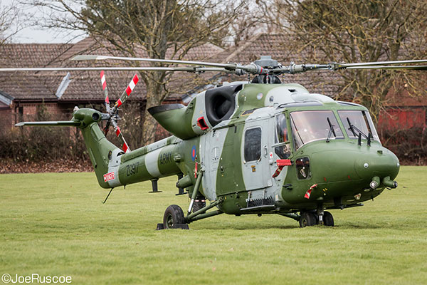 657 Squadron Lynx helicopter