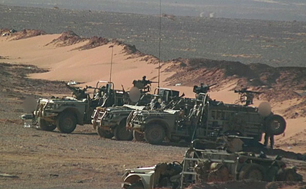 uksf Al-Thalab vehicles
