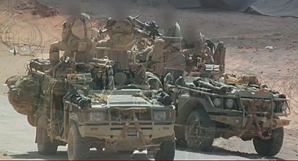 uksf vehicles Syria