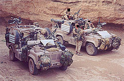 Pathfinders WMIK Land Rovers