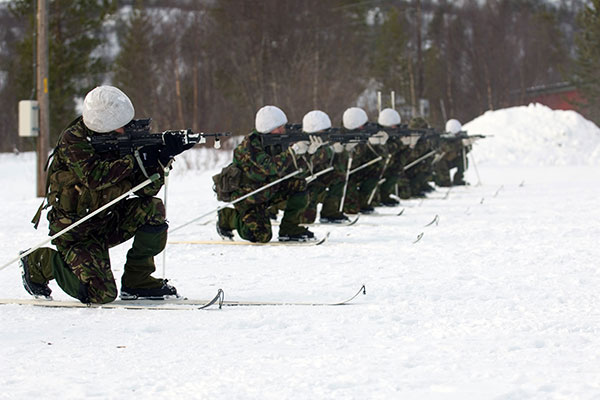 42 CDO Arctic training