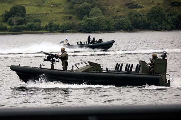43 Commando Offshore Raiding Craft