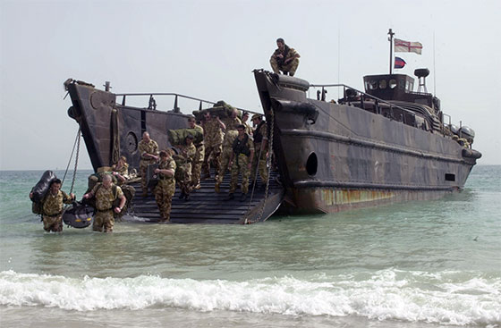 Royal Marines Landing Craft