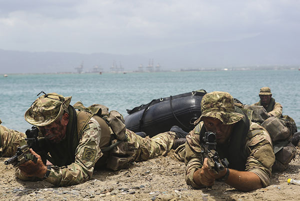 Photo of Royal Marines Commandos