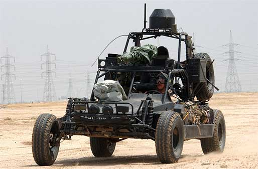 Light Strike Vehicles are used by a number of special operations units ...