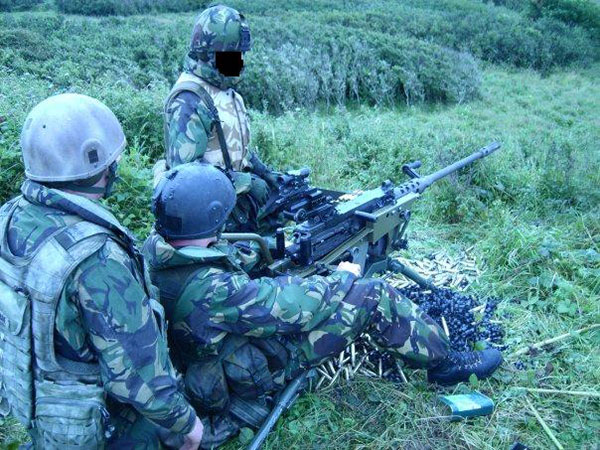 SFSG heavy machine gun team