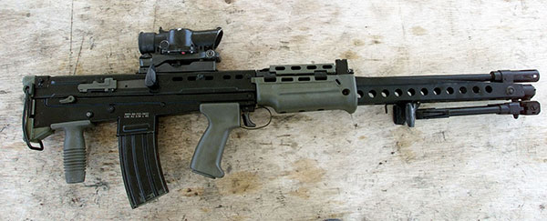 SA80a2 Assault Rifle