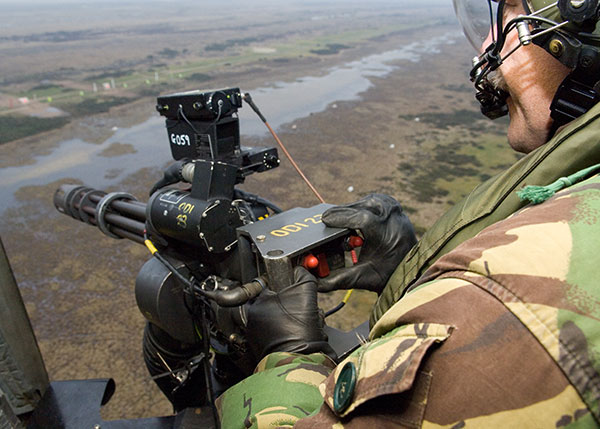 m134 minigun british military weapons