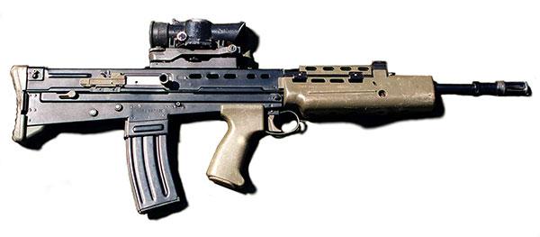 SA80A2 rifle